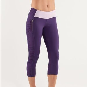 Lululemon Run: in the sun crop